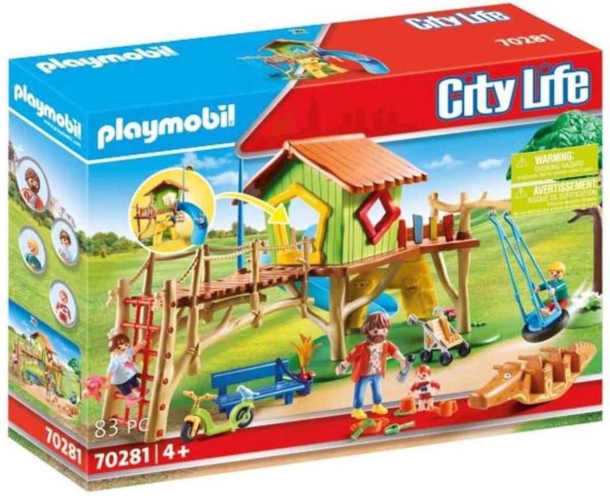 PLAYMOBIL City Life Avontuurlijke speeltuin - 70281