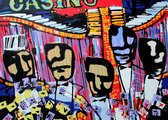 Herman Brood zeefdruk: Casino