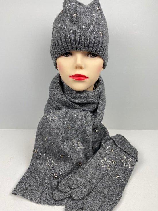 Winterset, sjaal, muts en handschoenen