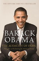 Boek cover The Audacity of Hope van Barack Obama