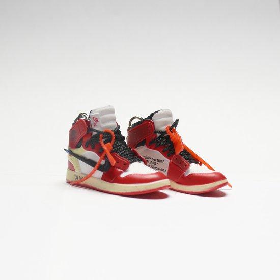 hélice Reunión Nombre provisional  bol.com   N*ke Air Jordan 1 X *ff Wh*te Keychain - Sleutelhanger - Hype -  Accessoires - Sneaker...