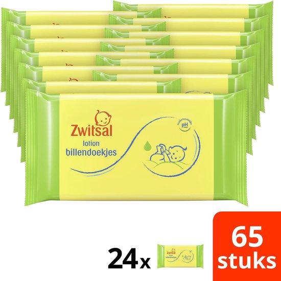 Zwitsal Lotion Billendoekjes - 1560 stuks - Voordeelverpakking