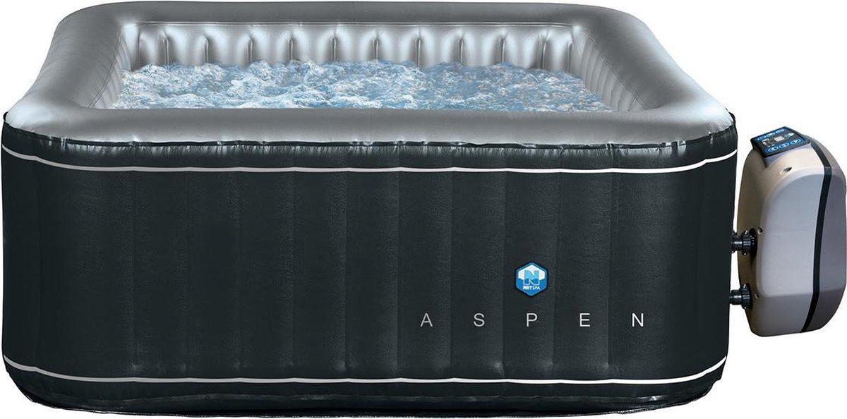 NetSpa Aspen- opblaasbare jacuzzi- 4 personen-168 x168 x70cm-massage / verwarming / filtratie
