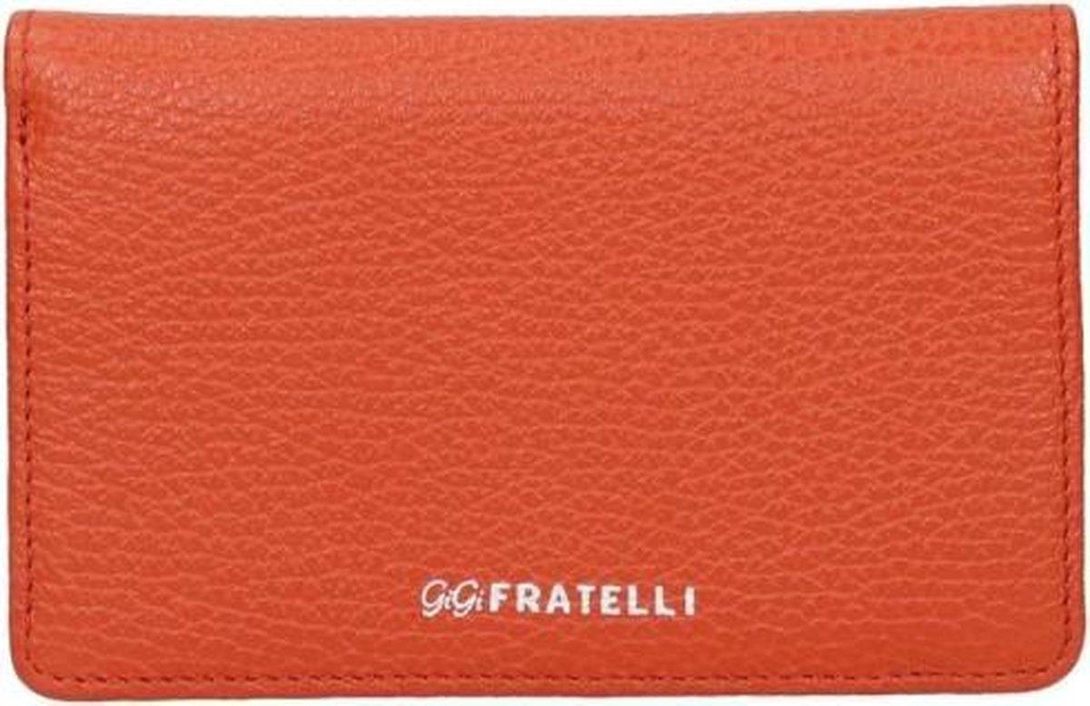 Gigi Fratelli Dames portemonnee Romance Leer - oranje