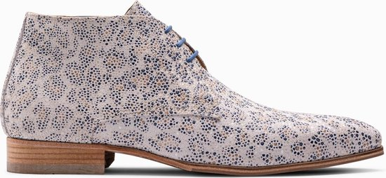 Paulo Bellini Boots Fano Leather Leopardo Raiado.