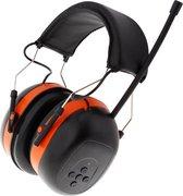 Gehoorbescherming met radio | FM-radio - oorkappen met radio - voor volwassenen - gehoorbeschermer - gehoorkap - verstelbaar - one size
