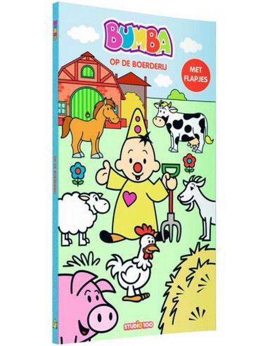 Boek cover Bumba Op de boerderij van Gert Verhulst (Onbekend)