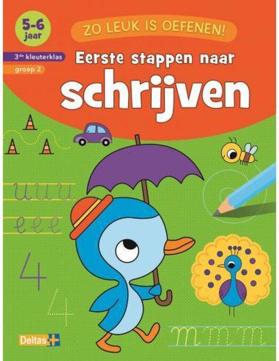Boek cover Zo leuk is oefenen!  -  Eerste stappen naar schrijven 5-6 jaar van ZNU (Paperback)