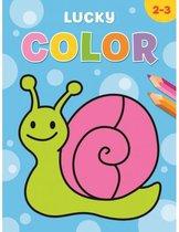 Kleurboek deltas lucky color (2-3jr)