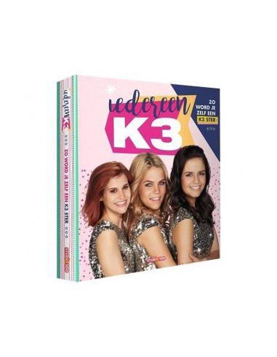 Boek cover K3  -   Iedereen K3 van Gert Verhulst (Hardcover)