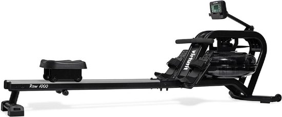 Roeitrainer - VirtuFit Pro Water Resistance Row 1000 Roeimachine - Inklapbaar - Hartslagfunctie - Zwart