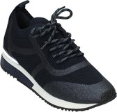 La Strada | Sneaker | Blue knitted | Maat 39