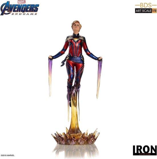 AVENGERS ENDGAME - Statue BDS Art - Captain Marvel - 26cm  - Figurine