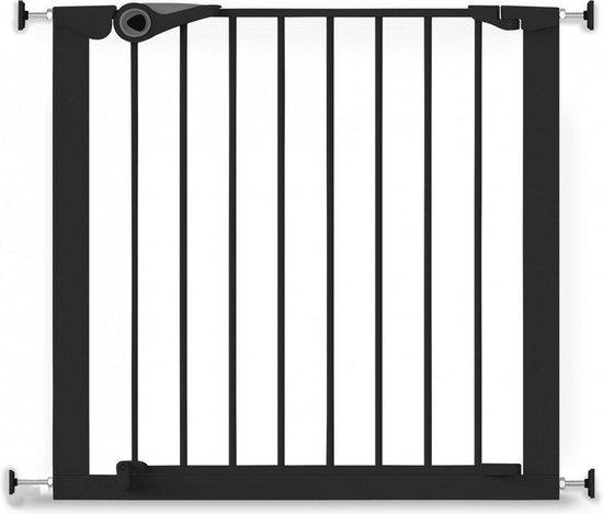 Product: Noma Pressure Fit Gate Traphekje - 75-82 cm - Zwart, van het merk Noma