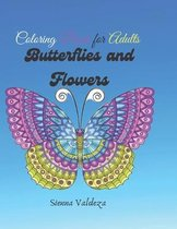 Butterflies and flowers /coloring book for adults