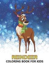 Reindeer Coloring Book for Kids