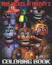 Boek cover Five Nights at Freddys Coloring Book van Fnaf Coloring (Paperback)