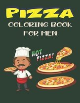 Pizza Coloring Book for Men