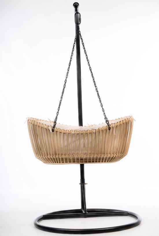 Product: Bohemian Baby Hanging Bassinet - Hangwieg - Natural zonder standaard, van het merk Bohemian Baby