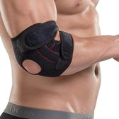 Pro-Care Elleboog Brace Linker Arm - Neopreen - Orthopedisch - 2 spring support - Pijn verlichtend - zwart/rood