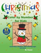 Christmas Color by Number for kids