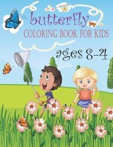 butterfly coloring book for kids ages 4-8
