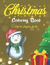 Christmas Coloring Book Girls Ages 4-8