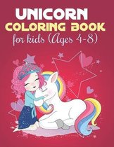 Unicorn Coloring Books For Kids Ages 4-8