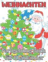 Weihnachten Farbgebung Buch Fur Kleinkinder
