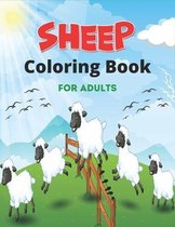 SHEEP Coloring Book For Adults