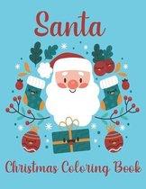 Santa Christmas Coloring Book