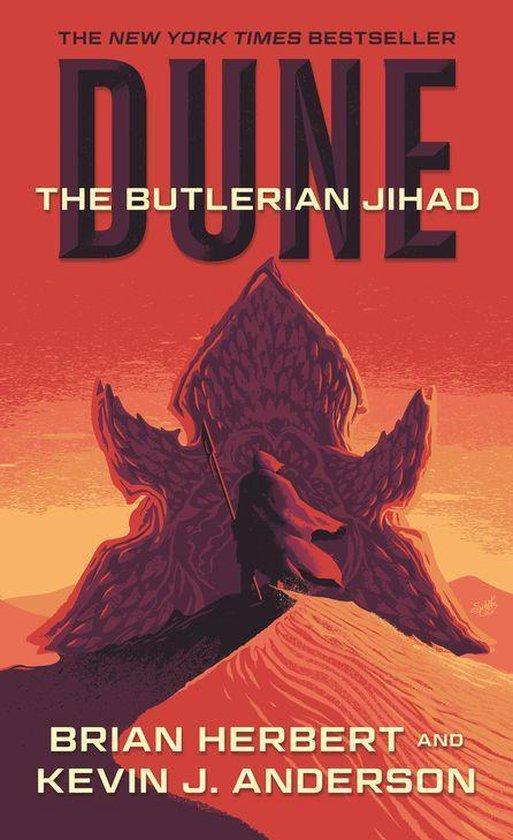 Boek cover Dune: The Butlerian Jihad van Frank Herbert (Onbekend)