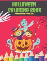 Halloween Coloring Book For Kids and Toddlers