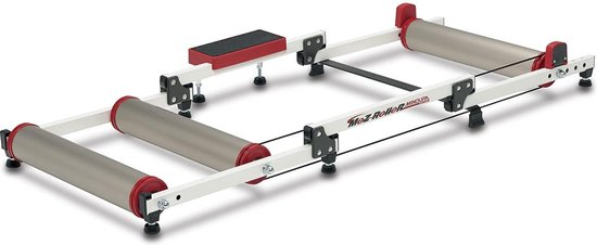 Minoura Rollerbank Moz 24-28 Inch 131 X 54,4 Cm Aluminium Wit