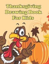 Thanksgiving Drawing Book for Kids