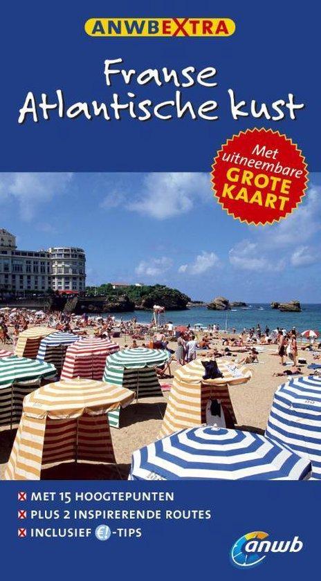 Cover van het boek 'ANWB Extra Franse Atlantische kust'