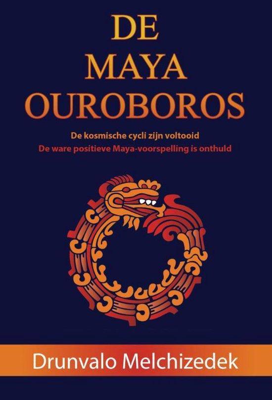 Cover van het boek 'De Maya Ouroboros' van Drunvalo Melchizedek