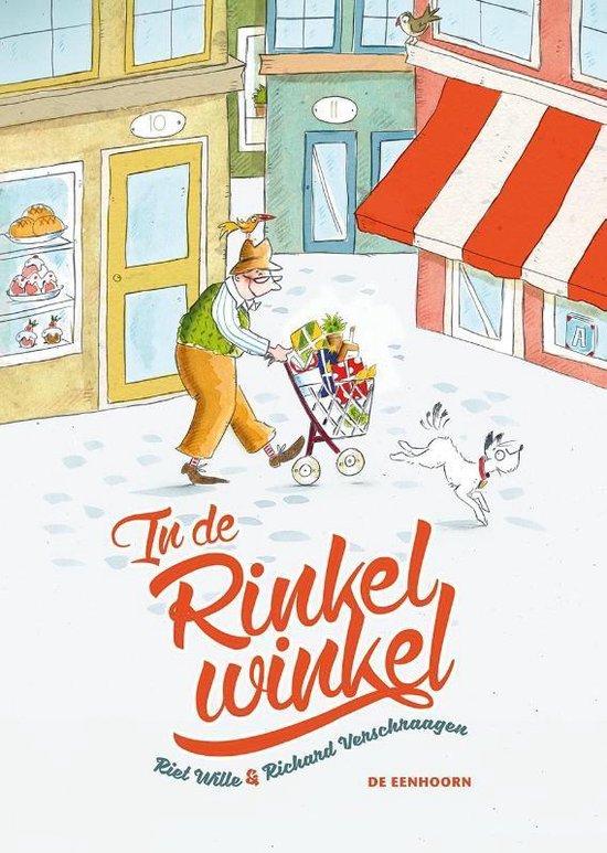 Boek cover In de Rinkelwinkel van Riet Wille (Hardcover)