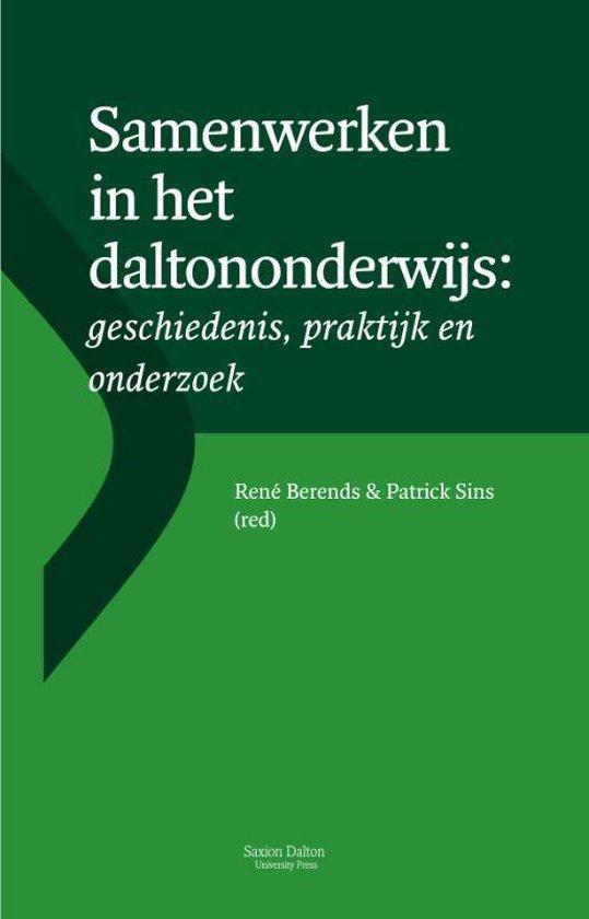 Boek cover Samenwerken in het daltononderwijs van René Berends (Paperback)