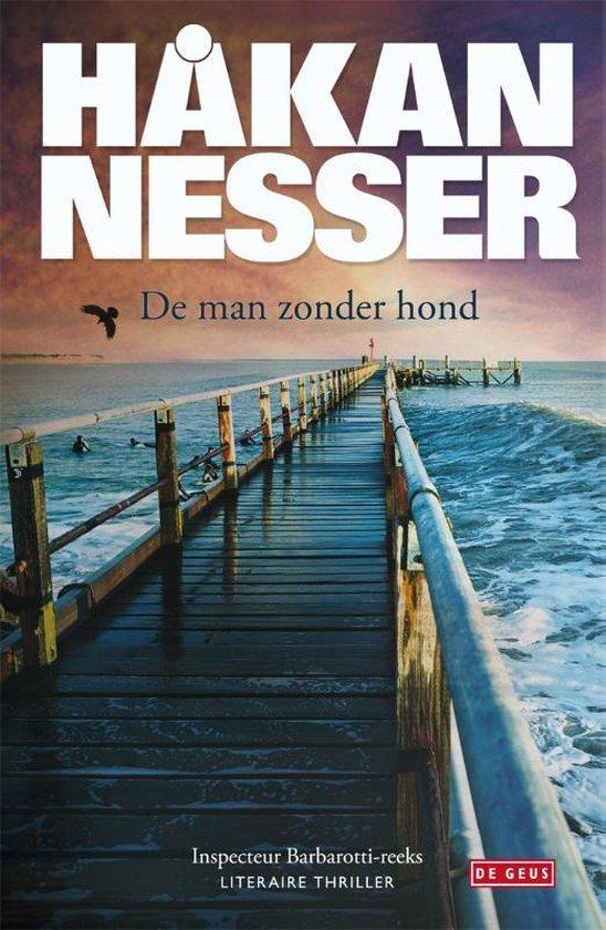 Cover van het boek 'De man zonder hond' van Hakan Nesser