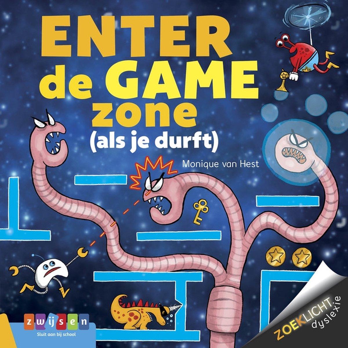 Zoeklicht dyslexie  -   ENTER DE GAME ZONE - Monique van Hest