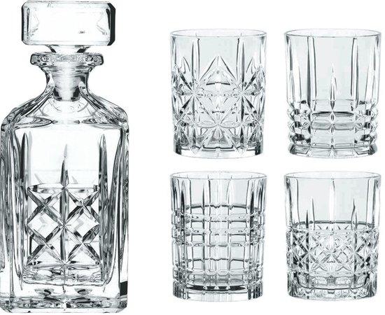Nachtmann Highland Whiskyset, 5-delig