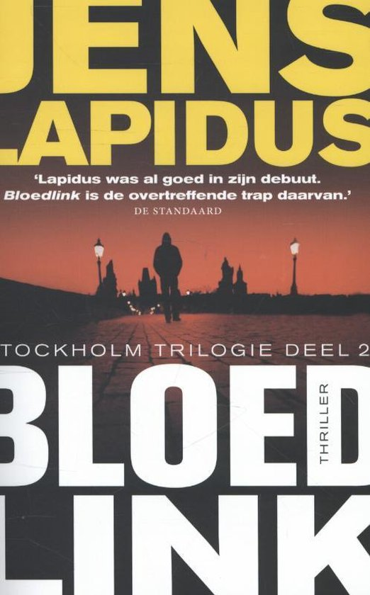 Boek cover De Stockholm-trilogie 2 -   Bloedlink van Jens Lapidus (Paperback)