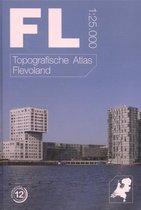 Afbeelding van Topografische provincie atlassen  -   Topografische atlas van Flevoland