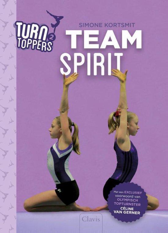 Boek cover Turntoppers 2 -   Teamspirit van Simone Kortsmit