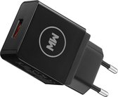 MW® QuickCharge Snellader - USB Adapter Universeel