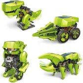 Imaginarium T4 ECO SOLAR ROBOT - Bouwpakket Robot - Op Zonne-energie - 4 Modellen in 1