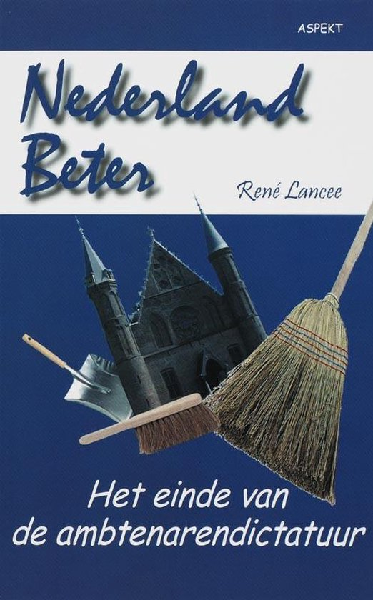 Cover van het boek 'Nederland beter'