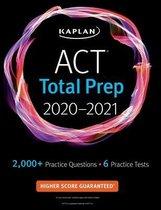 Boek cover ACT Total Prep 2020-2021 van Kaplan Test Prep