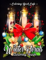 Winter Florals Coloring Book